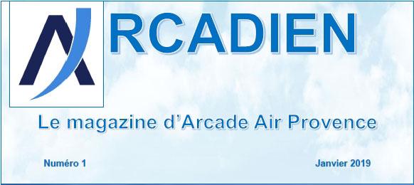 entete magazine Arcadien - 01/2019