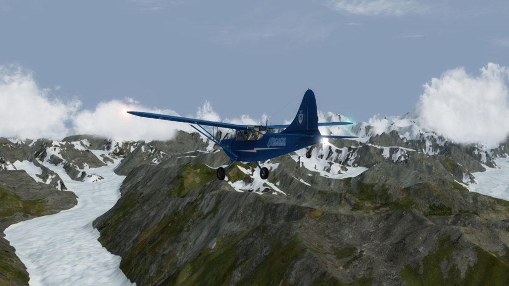 Kanikula glacier