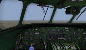 Le ute reservoir depuis le cockpit